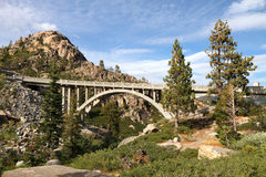 Rainbow Bridge, Truckee, California Royalty Free Stock Image