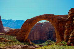 Rainbow Bridge, Utah Stock Photos