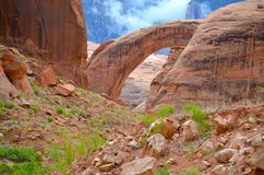 Rainbow Bridge in Utah, USA Royalty Free Stock Images