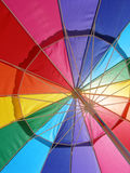 Rainbow bright Stock Photography