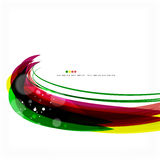Rainbow bright light air lines background Royalty Free Stock Images