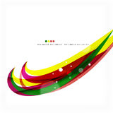 Rainbow bright light air lines background Stock Photo