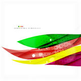 Rainbow bright light air lines background Stock Photography
