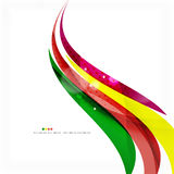 Rainbow bright light air lines background Royalty Free Stock Photography