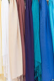 Rainbow of brightly shaded colors Royalty Free Stock Image