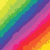 Rainbow Brush Marks Royalty Free Stock Photo
