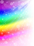 Rainbow Bubbles Background Royalty Free Stock Photo