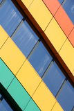 Rainbow building stock images