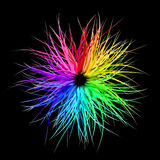 Rainbow Burst. Graphic illustration of Rainbow Burst stock illustration