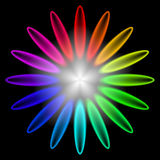 Rainbow Burst Royalty Free Stock Photos