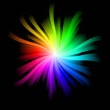 Rainbow Burst Stock Image