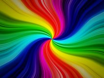 Rainbow burst background. A very colorful rainbow burst background Stock Photography