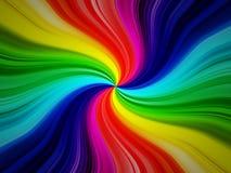Rainbow burst background Stock Photography