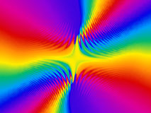 Rainbow Burst Background Stock Photos