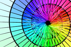 Rainbow Burst Stock Images