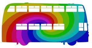 Rainbow Bus Stock Photos