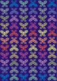 Rainbow butterflies Stock Photo