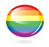 Rainbow button Stock Photos