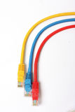 Rainbow cables Royalty Free Stock Photography