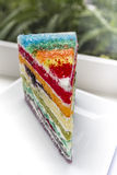 Rainbow Cake Stock Image