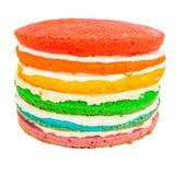 Rainbow Cake I Royalty Free Stock Image