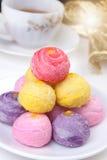Rainbow cakes Stock Photo
