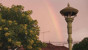 Rainbow,   cambodia, southeast asia Royalty Free Stock Images