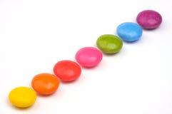 Rainbow candies Stock Photo