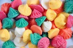 Rainbow candy royalty free stock photos