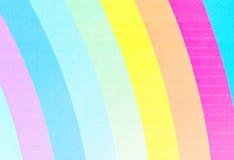 Rainbow canvas Stock Image
