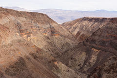 Rainbow Canyon at Death Valley Stock Photos