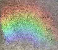 Rainbow carpet stock photography