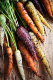Rainbow carrots Royalty Free Stock Photography