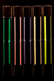 Rainbow Cartridge Shots Stock Photography