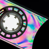 Rainbow On Cassette Royalty Free Stock Photo