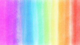 Rainbow Chalk Soft Colors Shade On White Watercolor Texture Paper. Abstract Royalty Free Stock Photos