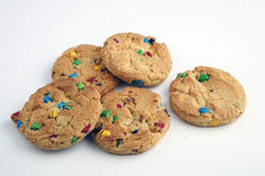 rainbow chip cookies Royalty Free Stock Photos