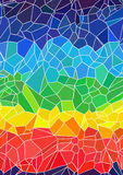 Rainbow chips pattern Royalty Free Stock Photos