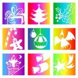 Rainbow Christmas Stock Image