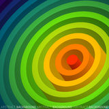 Rainbow circle. Abstract geometric  background Stock Images