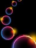 Rainbow Circle Background Royalty Free Stock Images