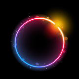Rainbow Circle Border Royalty Free Stock Photos