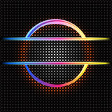 Rainbow Circle Border. Royalty Free Stock Photography