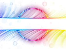 Rainbow Circle Border White Background Royalty Free Stock Photos