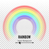 Rainbow Circle Element Vector. Color Spectrum. Colorful Round Element. Gay, Homosexual Symbol. Abstract Rainbow Illustration Isola. Rainbow Circle Element Vector Royalty Free Stock Photo