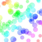 Rainbow circles Royalty Free Stock Photo