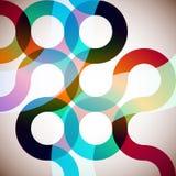 Rainbow Circles Royalty Free Stock Image