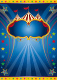 Rainbow circus vintage Royalty Free Stock Images