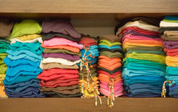 Rainbow Clothes Royalty Free Stock Photo