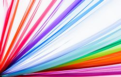 Rainbow clothes background, colorful clothes Stock Image